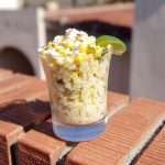 marijuana infused elote en vaso