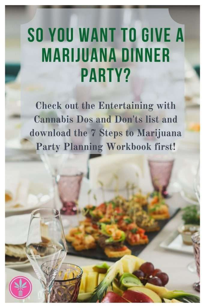 title card for Marijuana Party Dos and Don'ts article