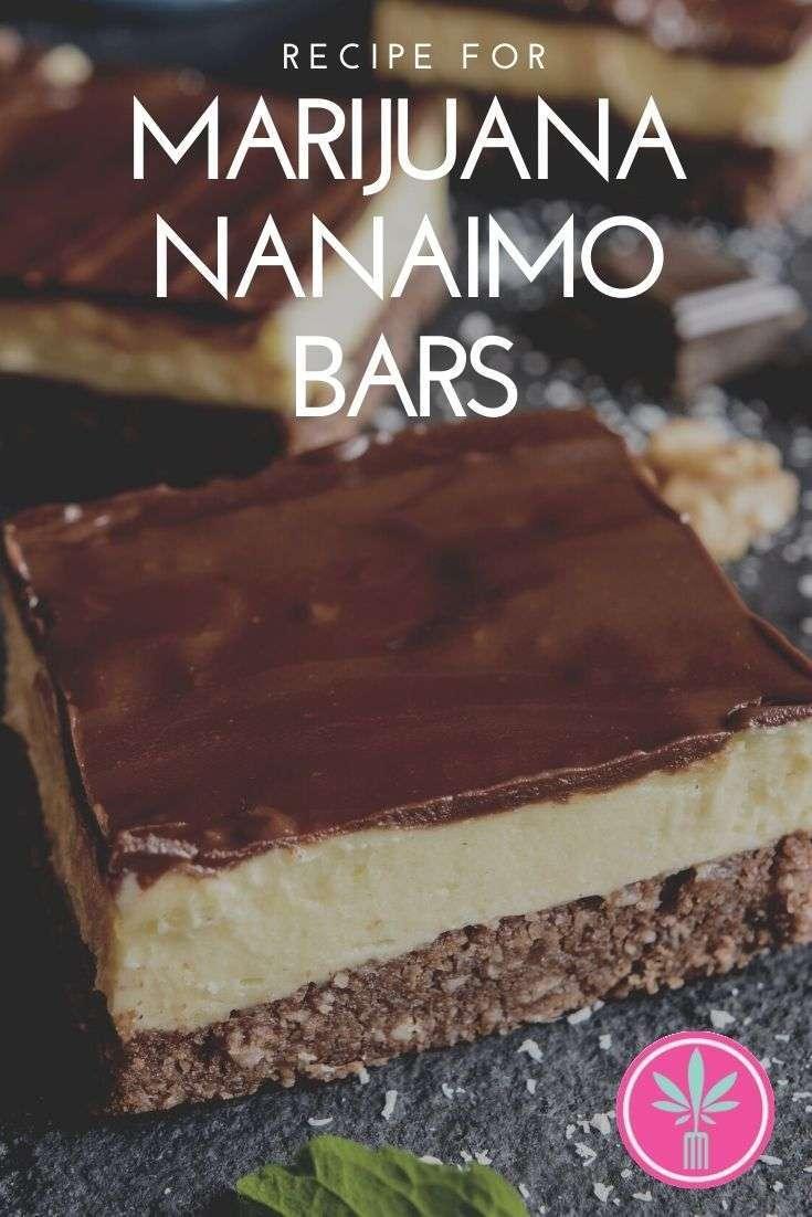 Marijuana Infused Nanaimo Bars
