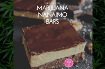 marijuana infused Nanaimo Bar