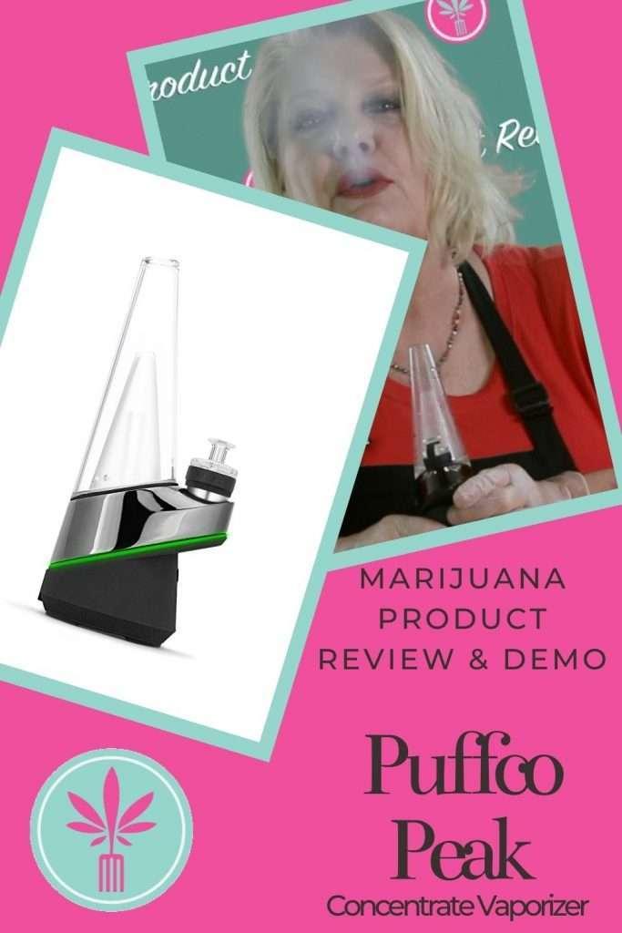 Puffco Peak cannabis concentrate vaporizer