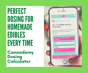 Cannabis Cheri Dosing Calculator