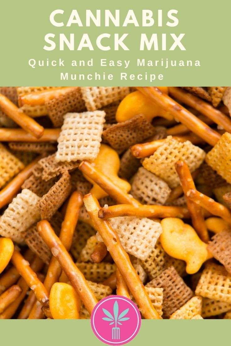 Pot Party Mix, a cannabis infused version of traditional Chex party mix