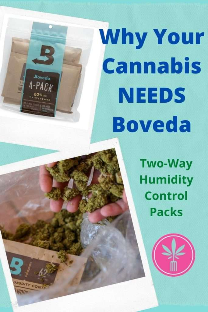 Boveda 2-way Humidity Control packs for Cannabis