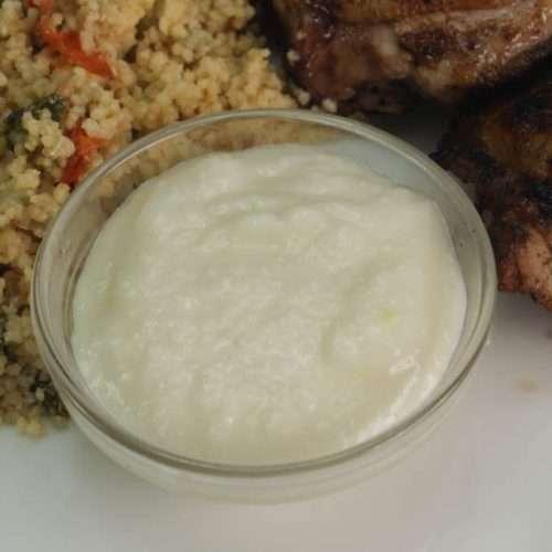 Cannabis Toum - Middle Eastern Garlic Sauce infused with marijuana