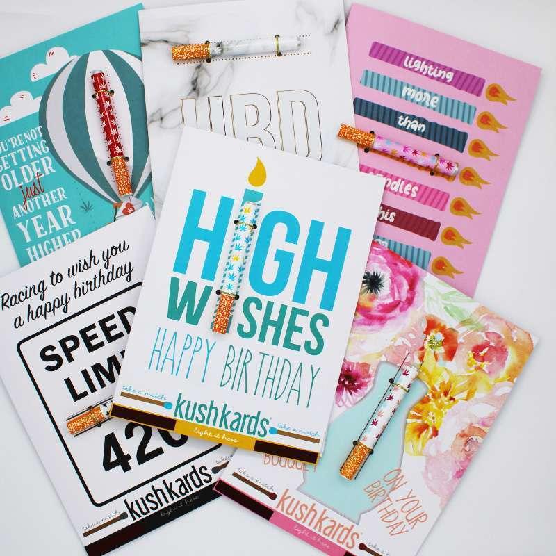 Kush Cards Marijuana Themed Greeting Cards