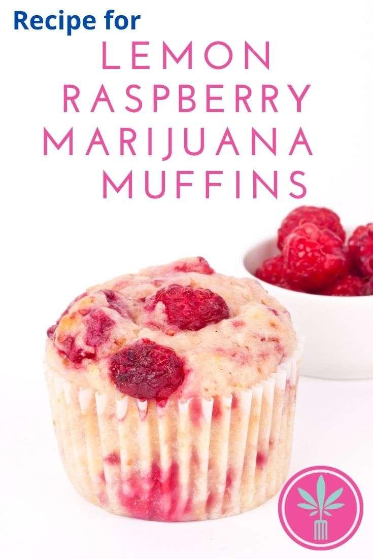 Recipe for Lemon Raspberry Marijuana Muffins