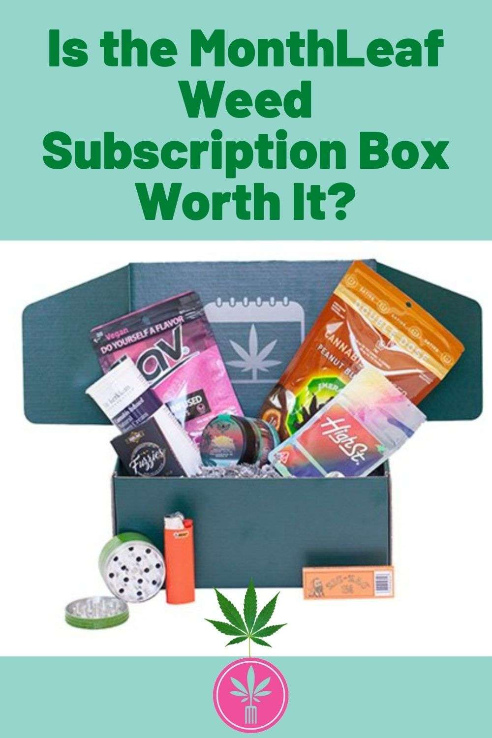 Month Leaf Weed Subscription Box