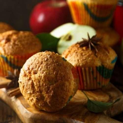 Apple Marijuana Muffins Recipe